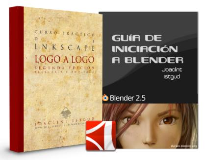 Inkscape: Logo a logo y Guía de iniciación a Blender