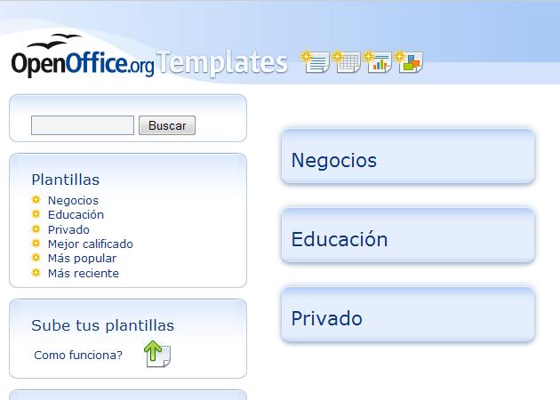 OpenOffice.org Templates