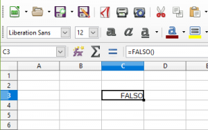 FALSO()